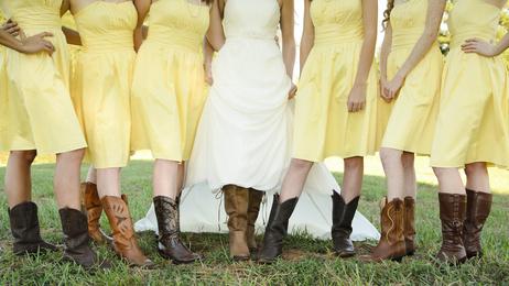 Thème de mariage country western