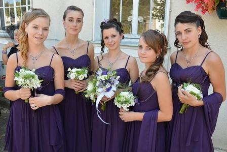 Dressing code des demoiselles d'honneur