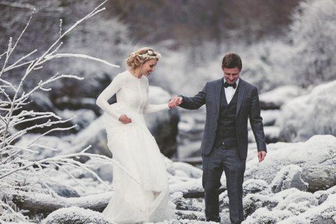 se marier en hiver