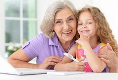 poèmes fête des grands mères