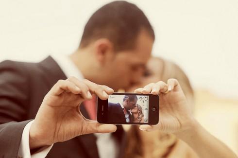 photo selfi mariage