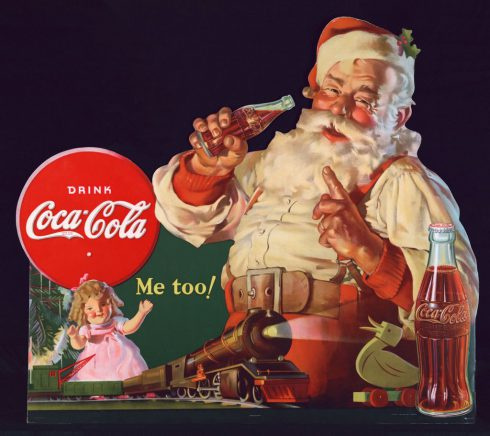 pére noel coca cola