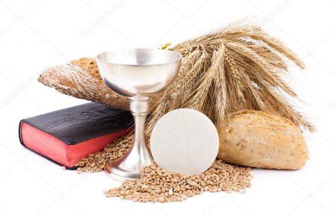 pain et vin première communion
