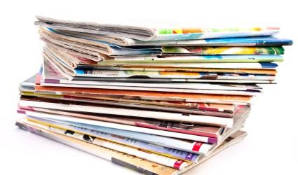 pile magazines mariage
