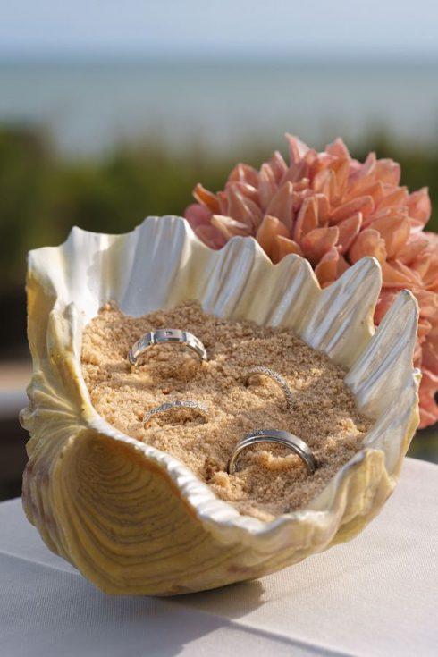 porte alliance mariage bord de mer