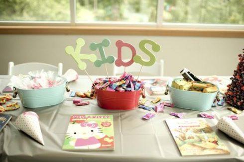 repas table enfant mariage