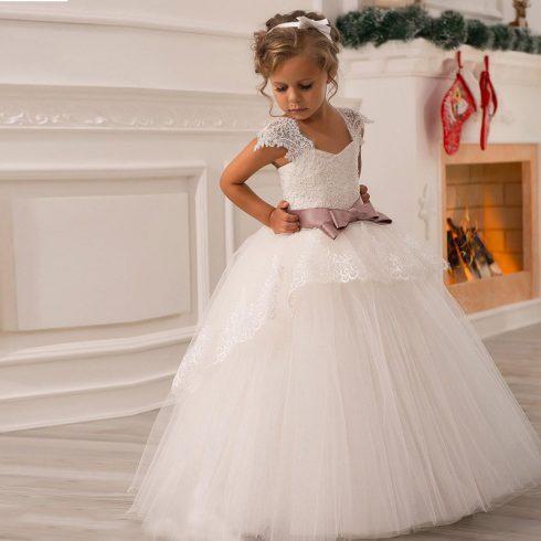 robe baptême princesse