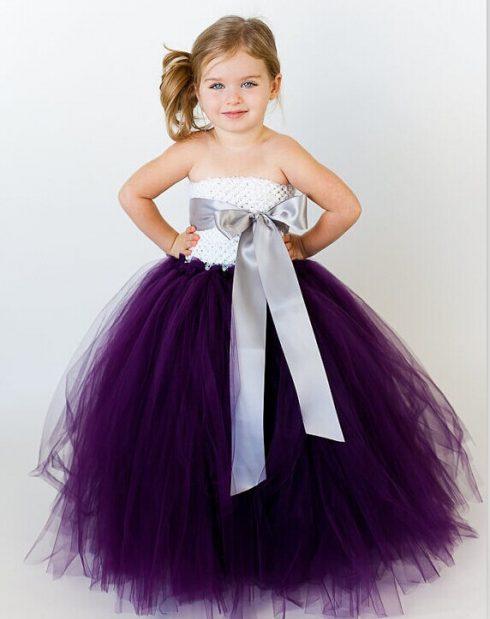 robe couleur violette