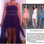 robe de demoiselle d'honneur achetée sur internet déception 1