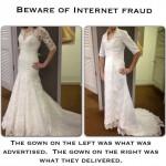 robe de mariée achetée sur internet déception 29