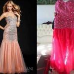 robe de mariée achetée sur internet déception 30