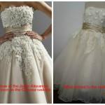 robe de mariée achetée sur internet déception 5
