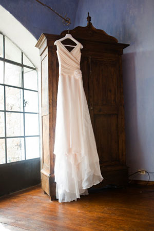 robe de mariée placard