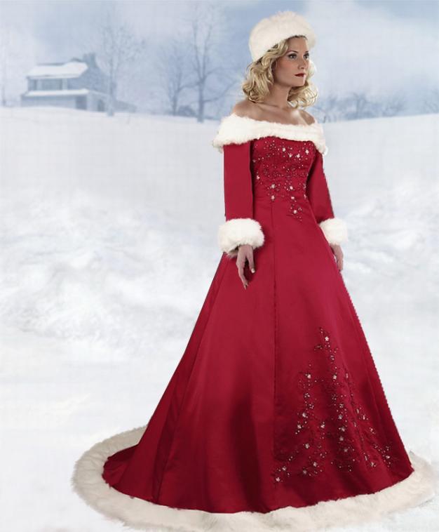 top 10 des robes de mari e de no l blog boutique magique. Black Bedroom Furniture Sets. Home Design Ideas