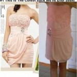 robe de soirée achetée sur internet déception 1