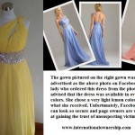 robe de soirée achetée sur internet déception 11