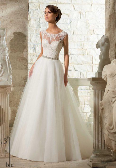 robe mariée en A