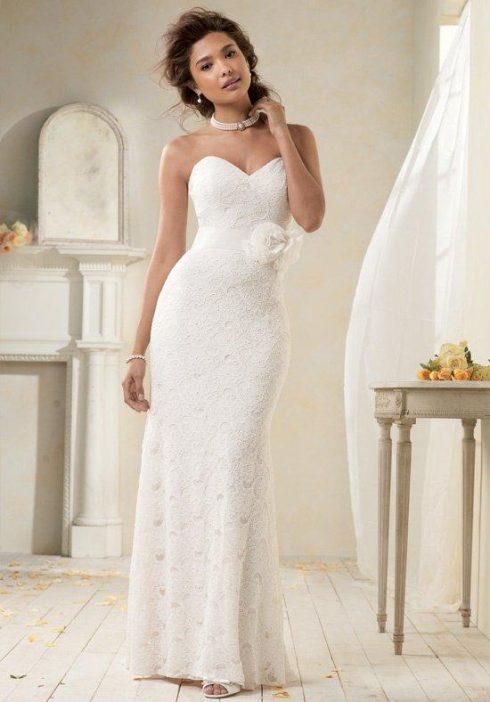 robe mariée fourreau