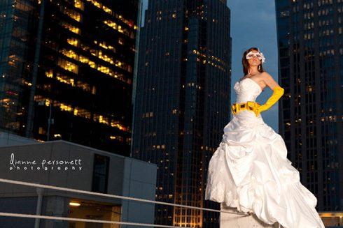 robe mariée super héros