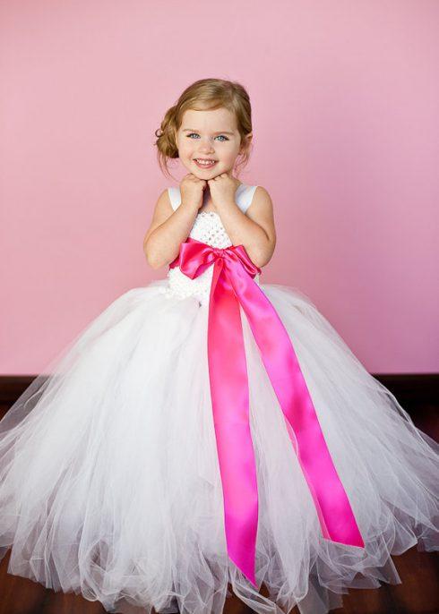 robe pincesse fille cérémonie