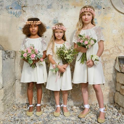 Robes demoiselles d'honneur style hippie