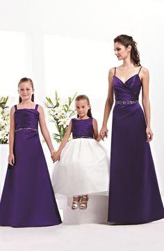 Robes demoiselles d'honneur filles femmes