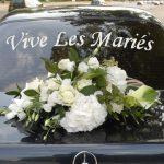 sticker marqueur voiture mariage