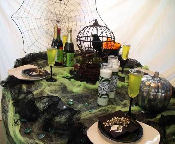 d coration table halloween parfaite comment faire blog boutique magique. Black Bedroom Furniture Sets. Home Design Ideas