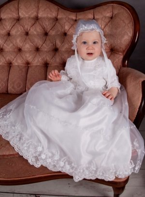 tenue de baptême pas cher
