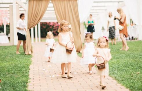 Type de robe demoiselles d'honneur selon l'âge
