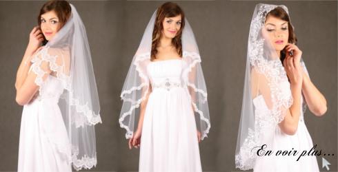 Robe de mariee sirene avec voile