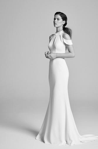 robe de mariée style découpée
